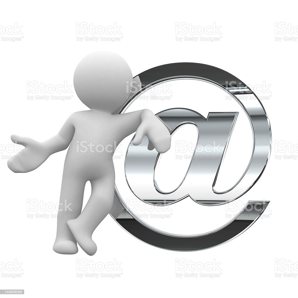 send a mail royalty-free stock photo