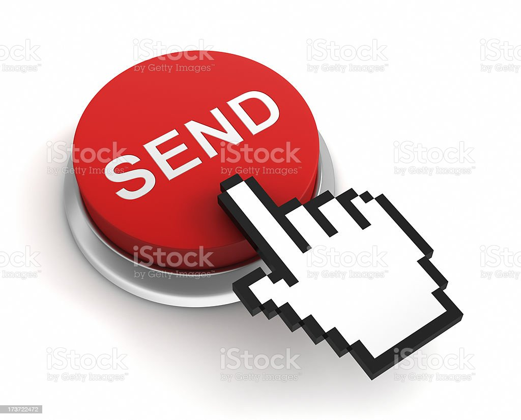 send button royalty-free stock photo