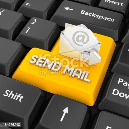 istock send mail enter key 184976240