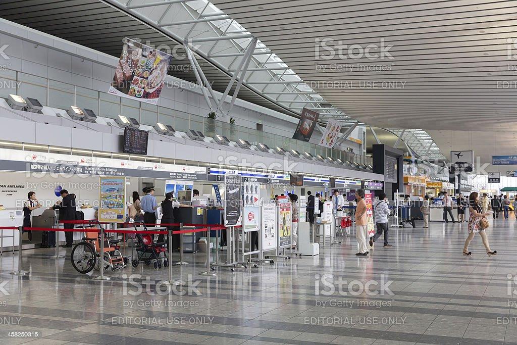 Sendai Airport in Japan royalty-free stock photo