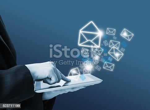 545576042 istock photo Sending email 523711199