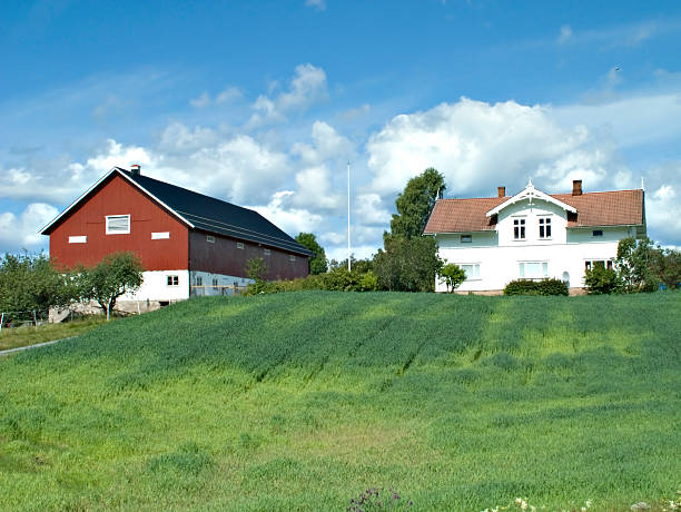 Best Farm Norway Norwegian Culture Barn Stock Photos