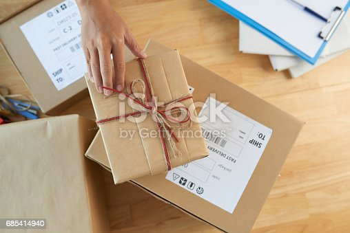 istock Sending gifts 685414940