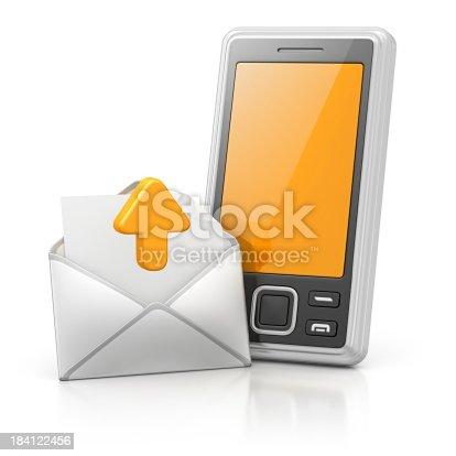 istock sending message 184122456