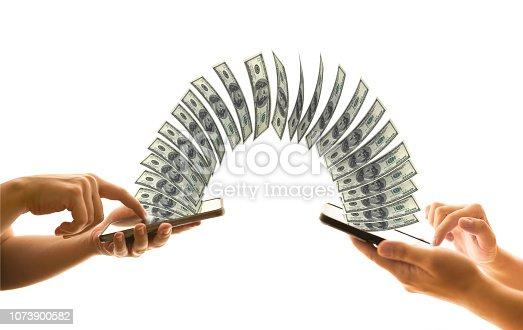 istock Sending Money 1073900582