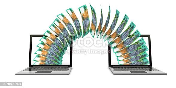 istock Sending Money 1075592704