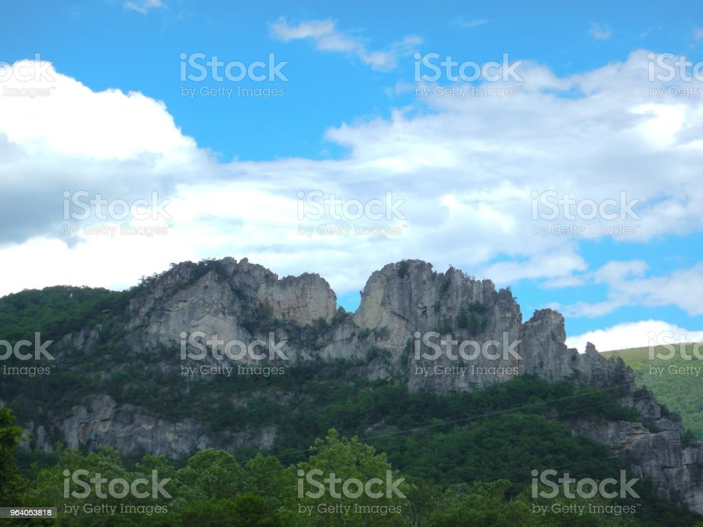 Seneca Rock - Royalty-free Forest Stock Photo