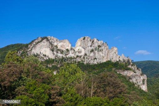 istock Seneca Rocks In West Virginia, USA 165650807