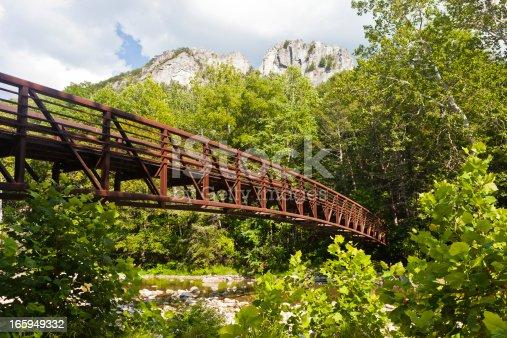 istock Seneca Rocks In West Virginia, USA 165949332