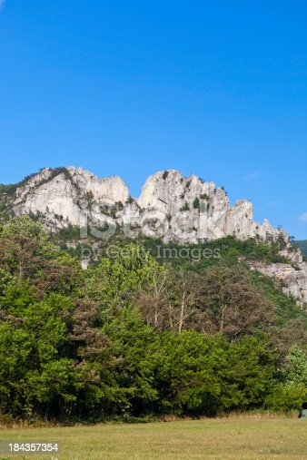 istock Seneca Rocks In West Virginia, USA 184357354
