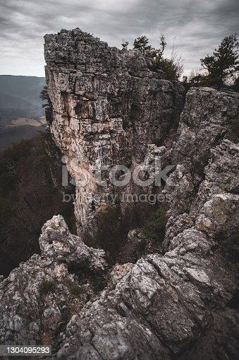 istock Seneca Rocks Mountains in West Virginia 1304095293