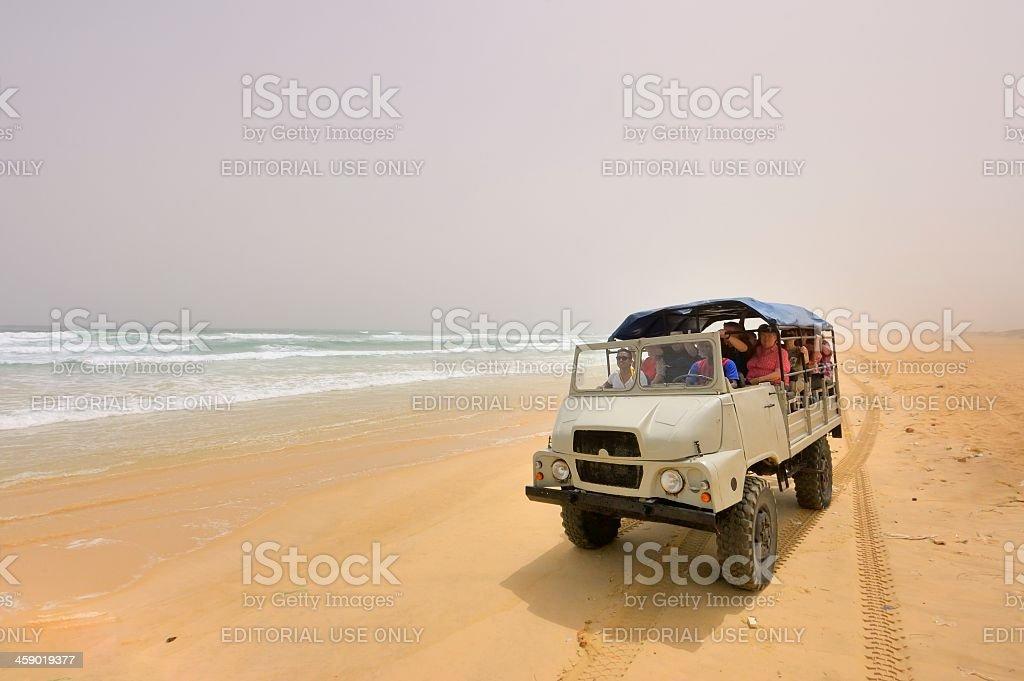Senegal Tourist Excursion stock photo