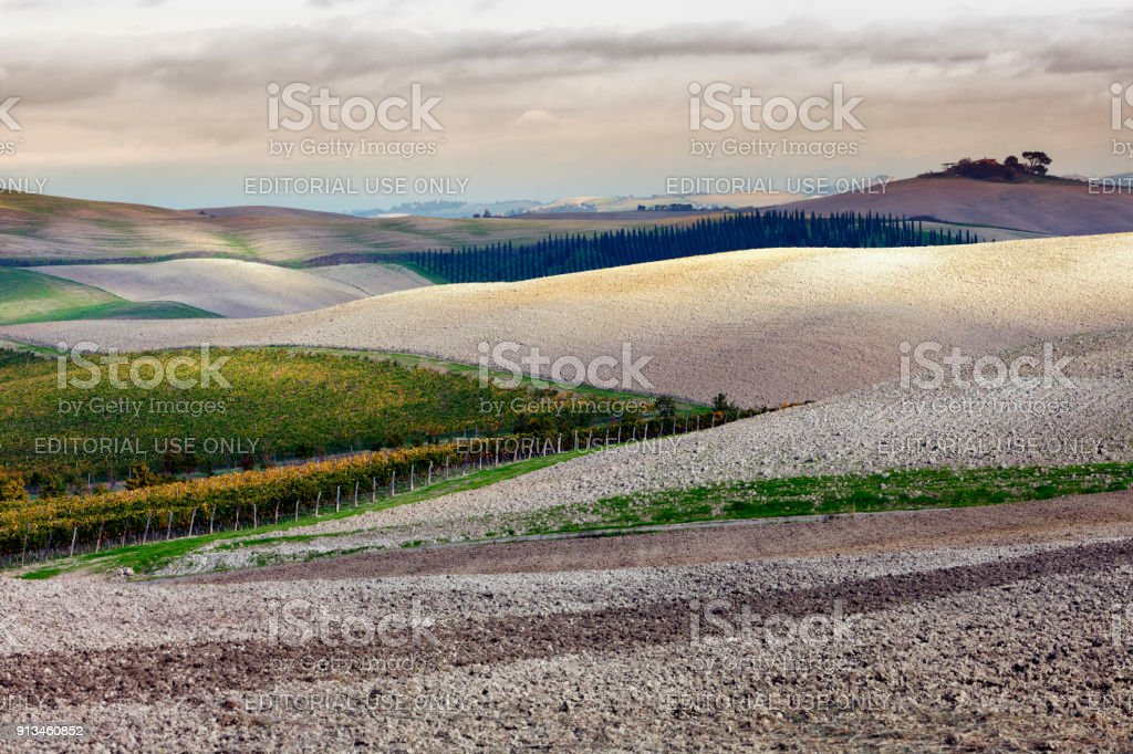 Senese Clays stock photo