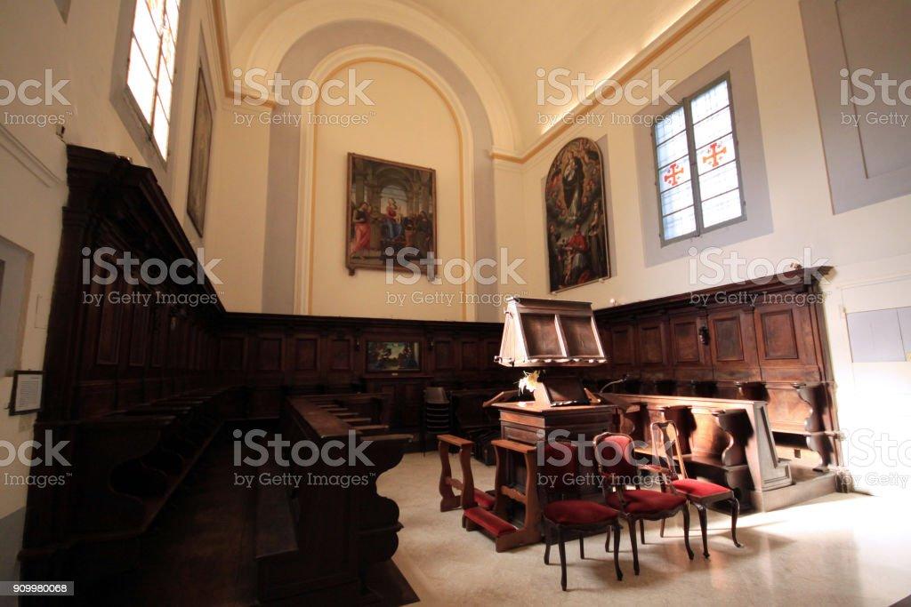Senigallia - Italy - Convent of 'Santa Maria delle Grazie' stock photo