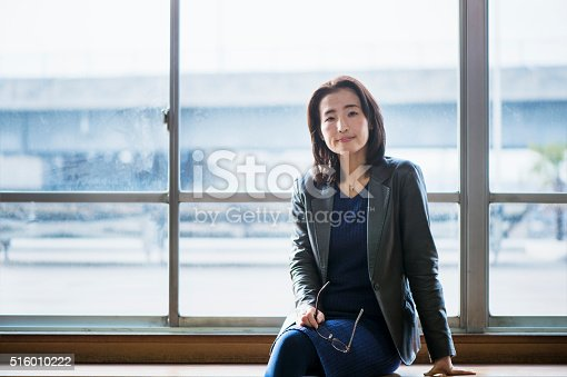 istock Senior adult businesswoman of the portrait 516010222