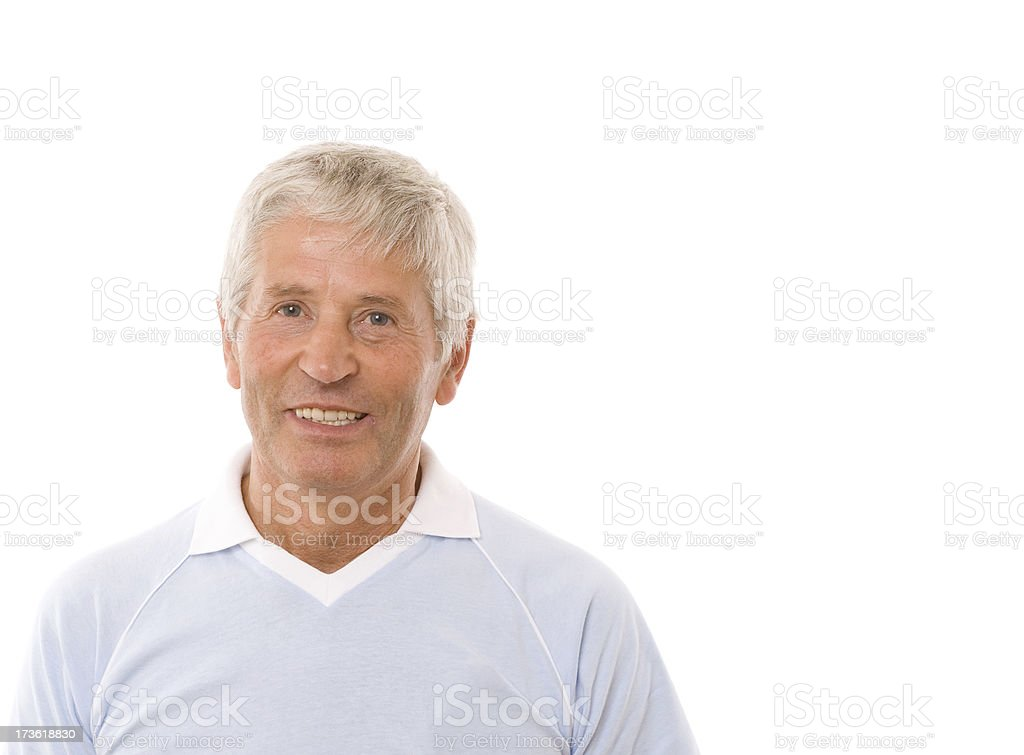 Senior adult royalty-free stock photo
