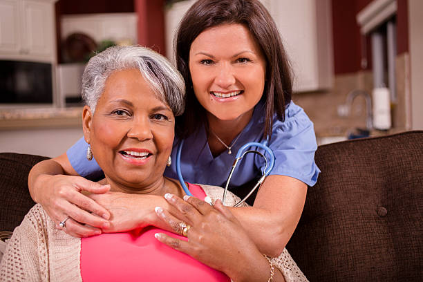 Senior adult with home healthcare nurse caregiver at home picture id583853552?b=1&k=6&m=583853552&s=612x612&w=0&h=d6q6satos 7hvisuquz4f6 05ivc620gfr 5hnismc0=
