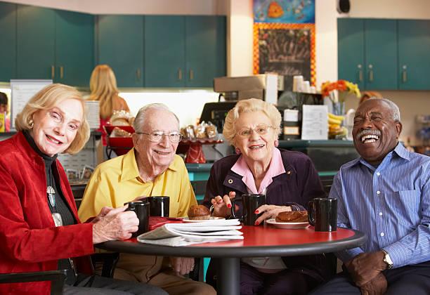 Senior adults drinking coffee in a cafe picture id140009937?b=1&k=6&m=140009937&s=612x612&w=0&h=kitebywmafdkmgtypyhugqtpfbu 5qmlmiswzikn t8=