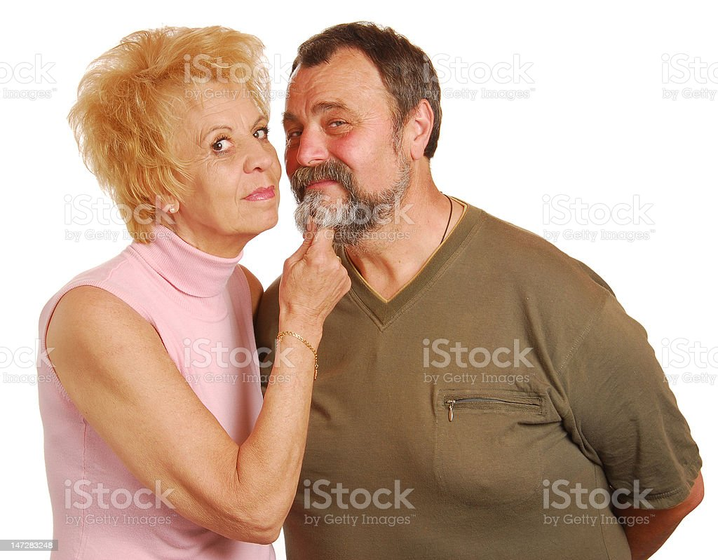 Senior adults royalty-free stock photo