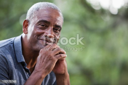 istock Senior African American man 170175743