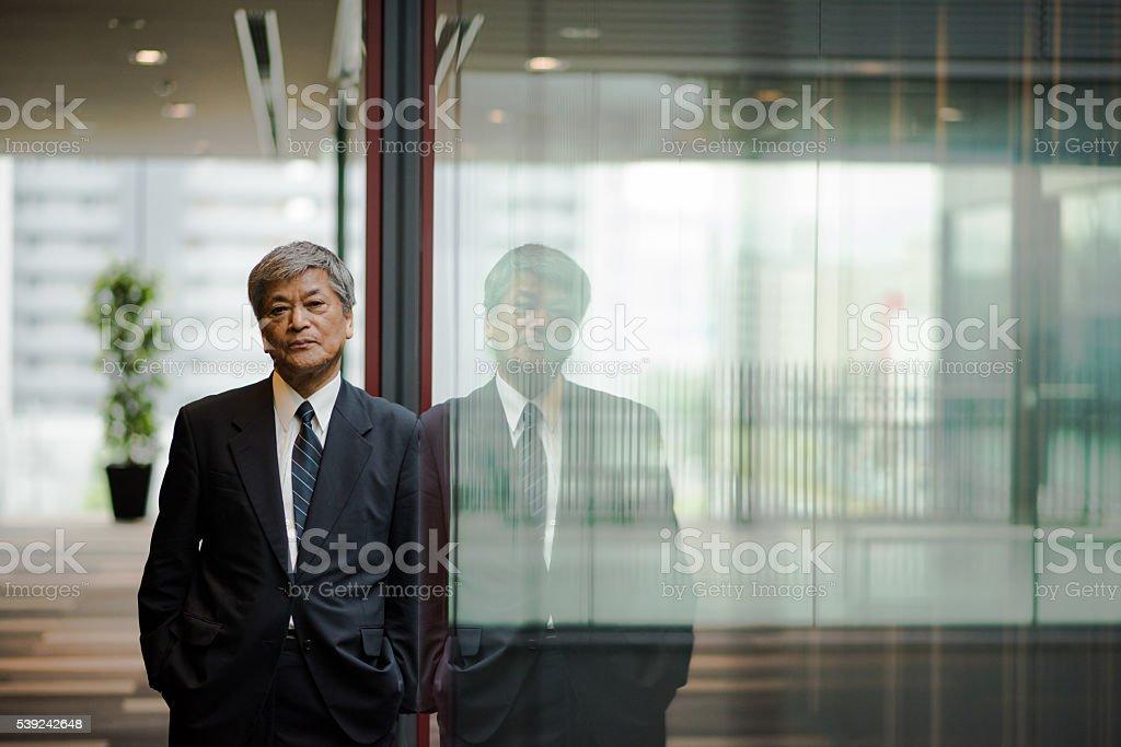 Ejecutivo Senior de negocios foto de stock libre de derechos