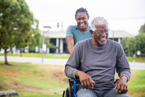Senior black man in wheelchair with daughter picture id1002259224?b=1&k=6&m=1002259224&s=612x612&w=0&h=jronv8wcsc1hyhid0ndm 9xvbap86r88xeqpsfuy0cc=