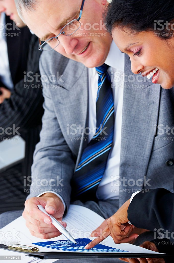 Senior business man royalty-free stock photo