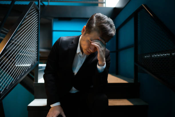 Senior Geschäftsmann ist verärgert – Foto