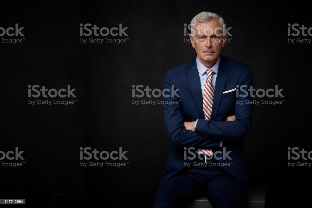 portrait de l'homme d'affaires Senior - Photo