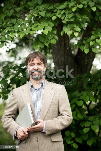 179607668 istock photo senior businessman smiling 149421216