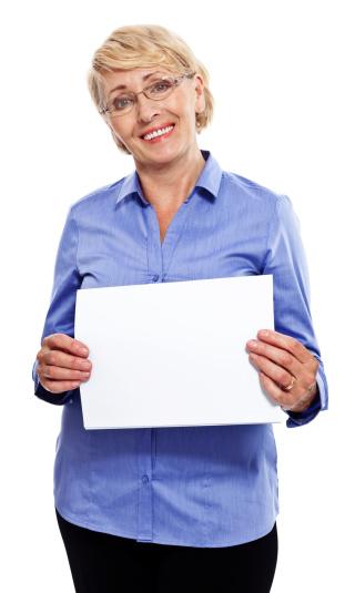 Senior Businesswoman Stock Photo - Download Image Now