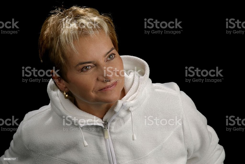 Senior Caucasian Woman royalty-free stock photo