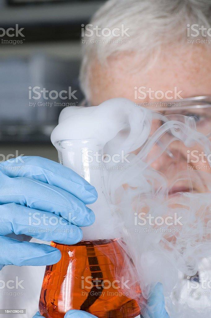 Senior Chemist royalty-free stock photo