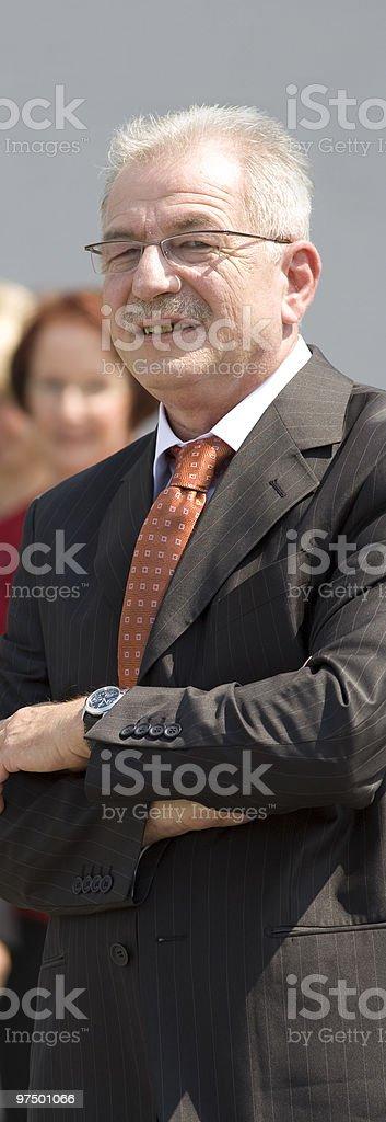 senior chief royalty-free stock photo