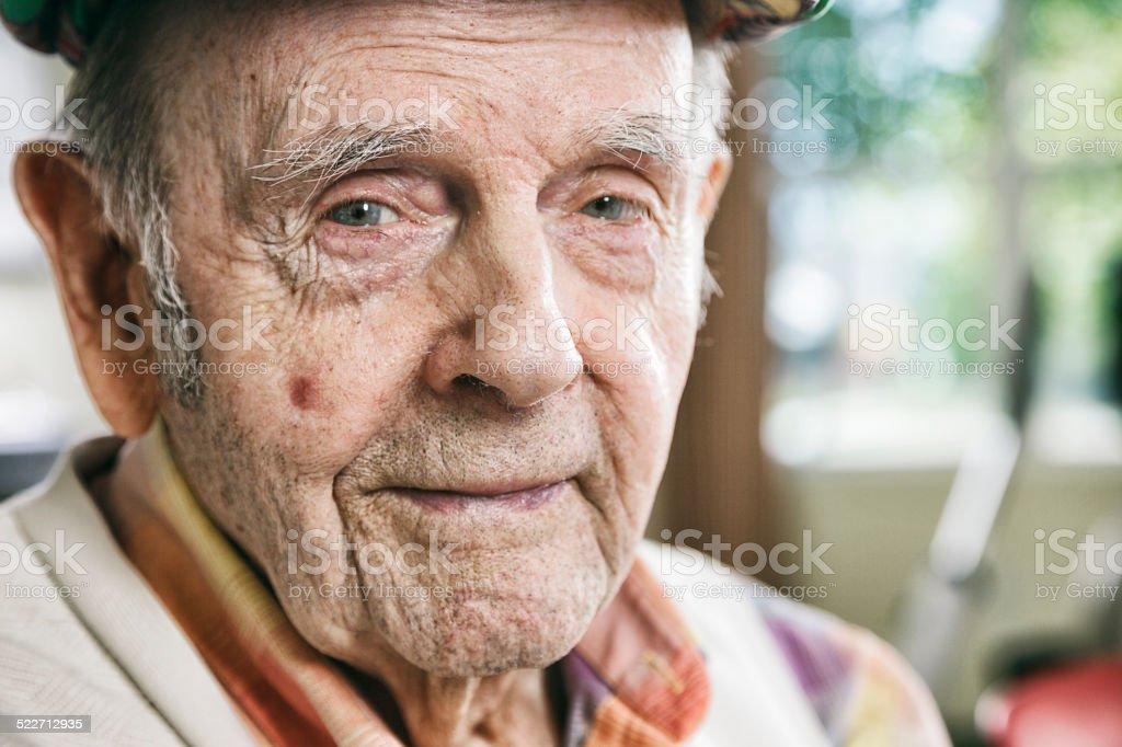 Senior Citizen Man stock photo