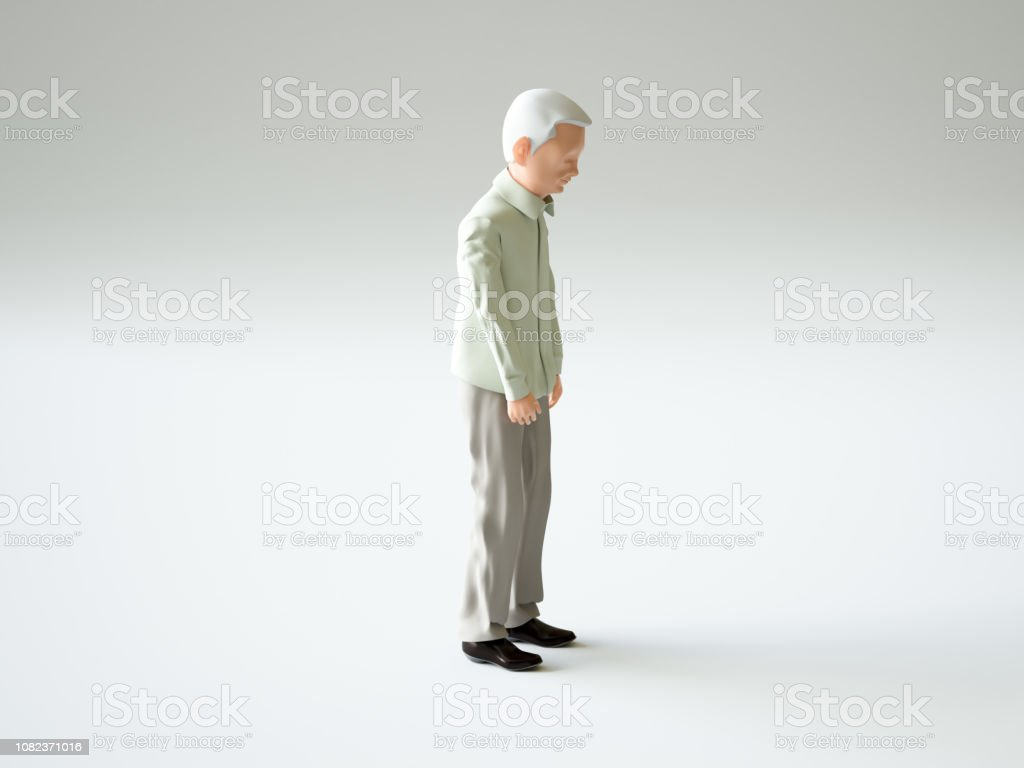 Senior citizens stock photo