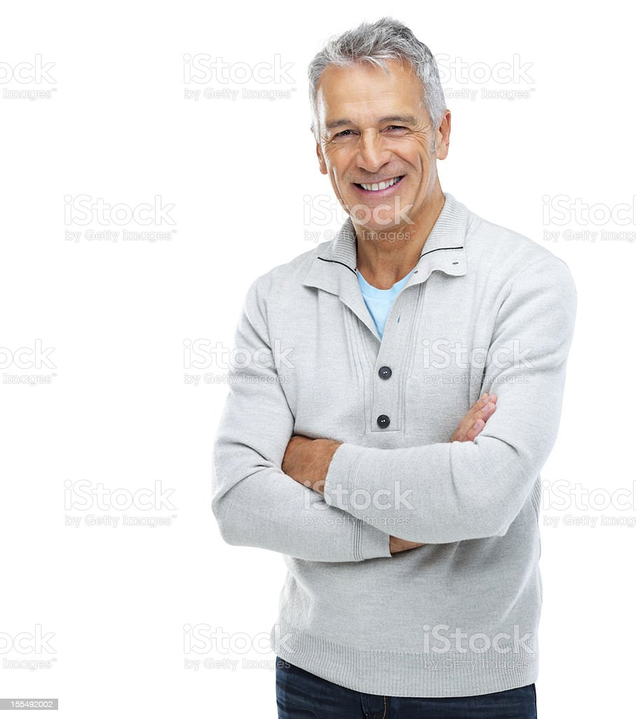 Senior confidence stock photo