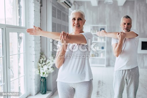 942580016istockphoto Senior couple at home 942580012