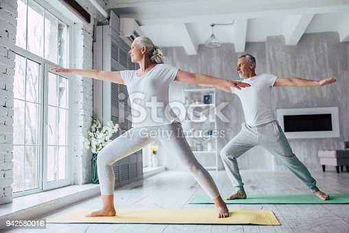 istock Senior couple at home 942580016