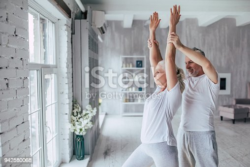 942580016istockphoto Senior couple at home 942580068