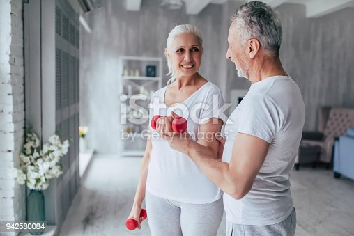 942580016istockphoto Senior couple at home 942580084