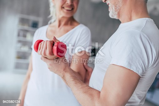 942580016istockphoto Senior couple at home 942580124