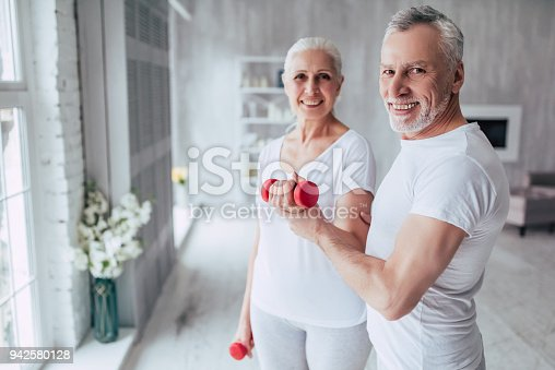 942580016istockphoto Senior couple at home 942580128