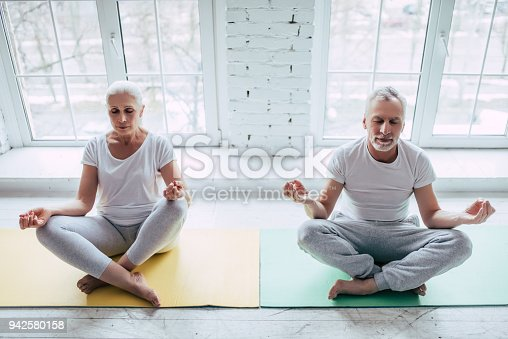 942580016istockphoto Senior couple at home 942580158