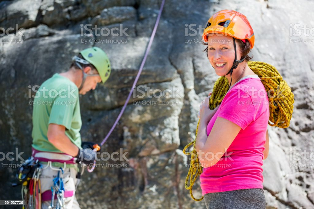 senior couple doing sport royalty-free stock photo