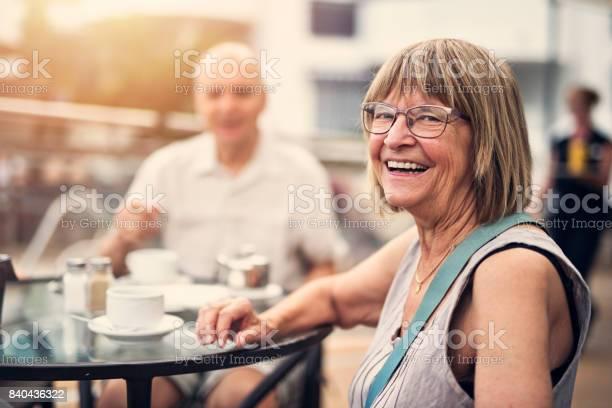 Senior couple enjoying coffee in hotel resort picture id840436322?b=1&k=6&m=840436322&s=612x612&h=z3xyxpkp8yck t4 19sg6xvzttyeshmj4bxeb6xrkhq=