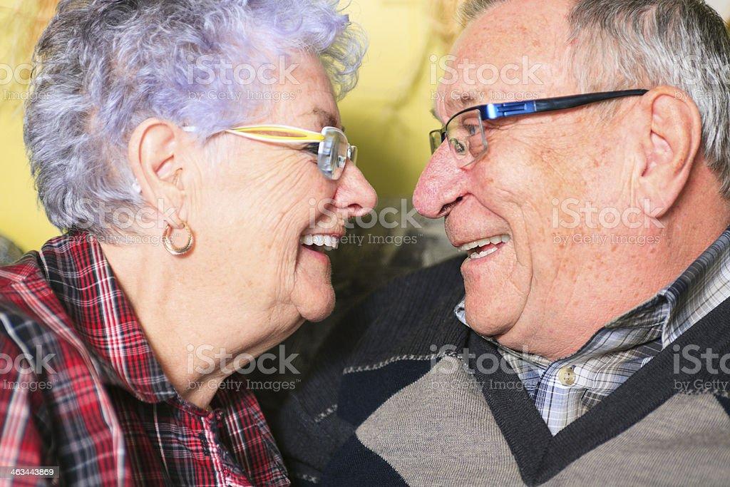 Senior Couple - Fun stock photo