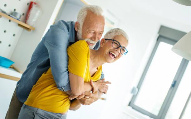 Senior Paar verliebt. – Foto