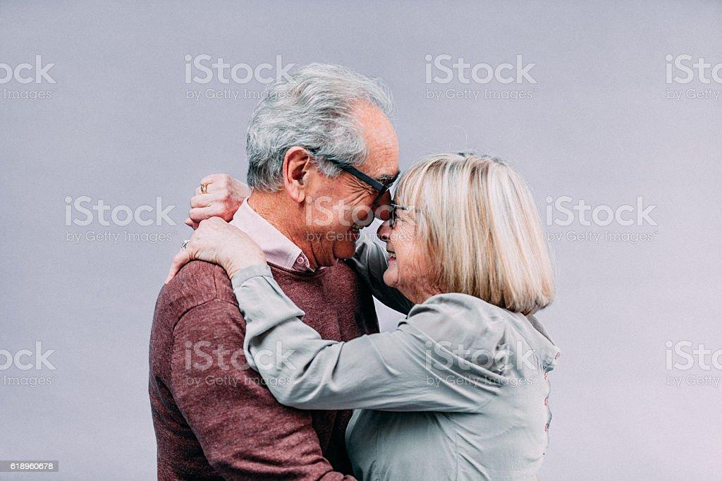 Senior couple en amour - Photo