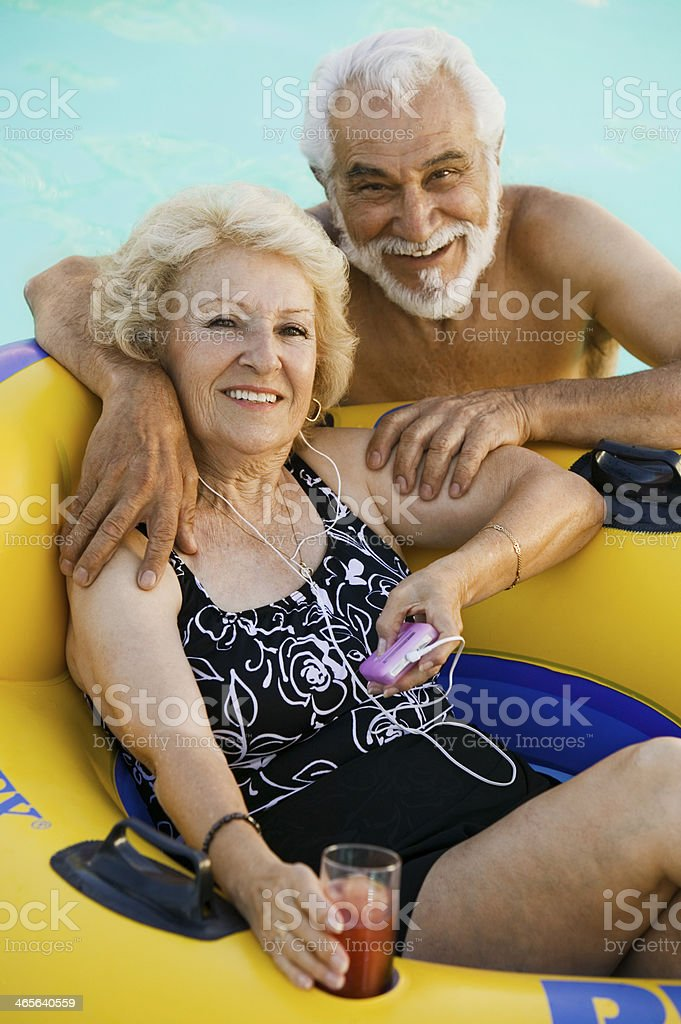 Senior couple tube